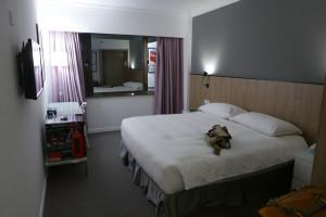 16 ホテルの部屋